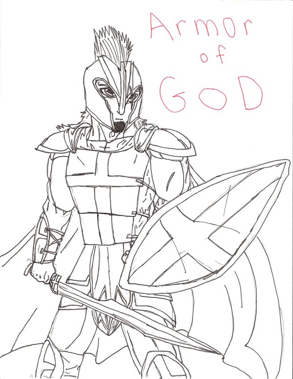 600x776 The Armor Of God By Natetravis23