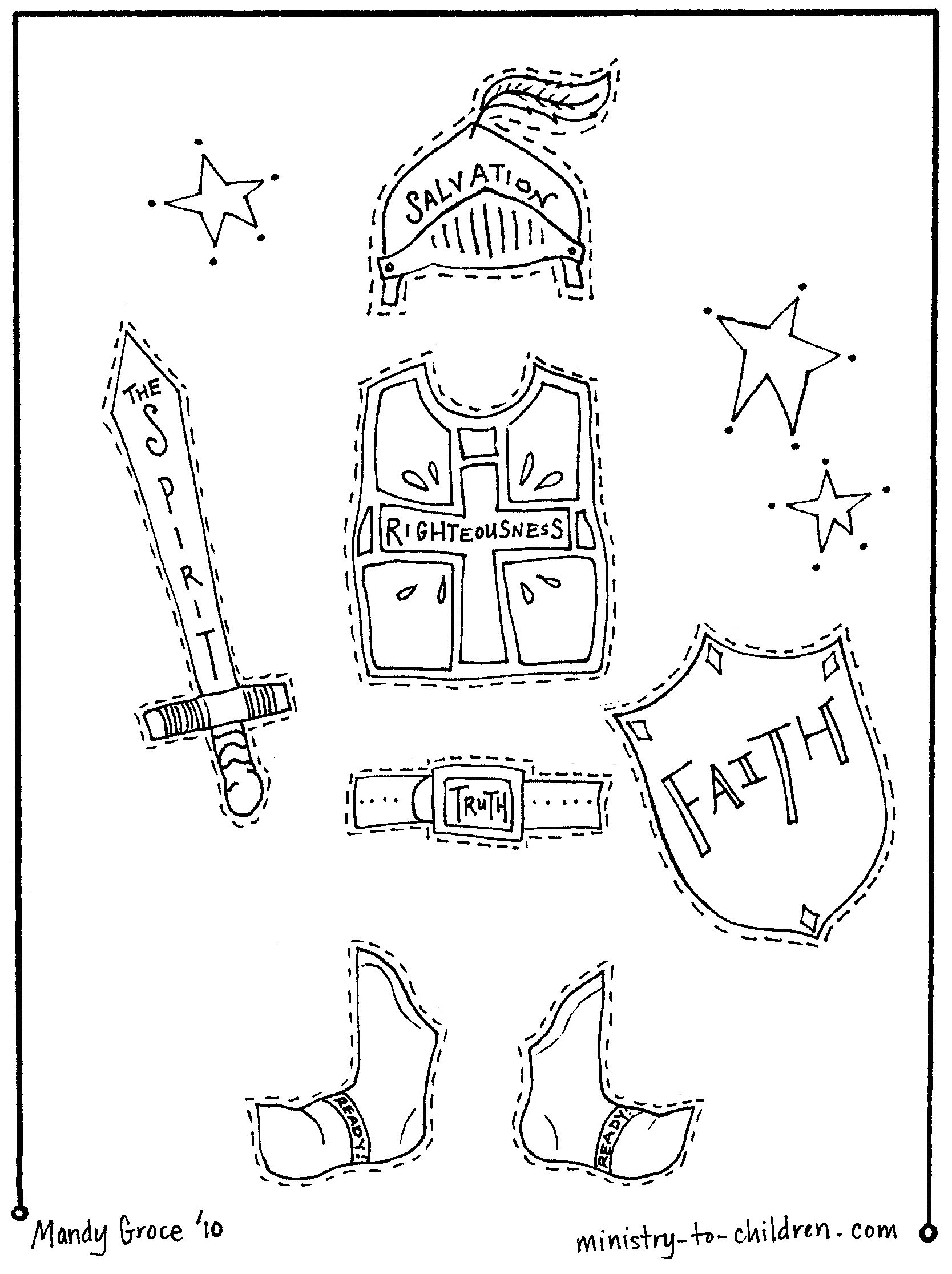 1668x2232 Armor For Kids Draw Body, Cut Out, Cover With Each Piece As You