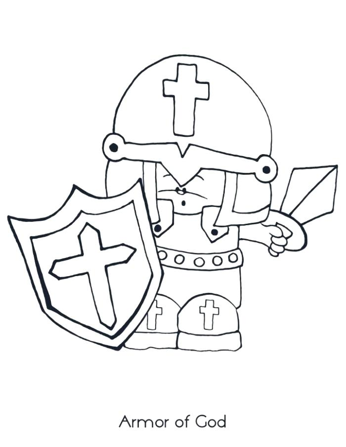 700x905 Armour Of God Coloring Page Knight Maze Get Knight Through
