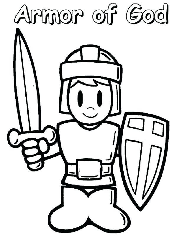 600x812 Astonishing Armour Of God Coloring Page Armor Sheet Printable