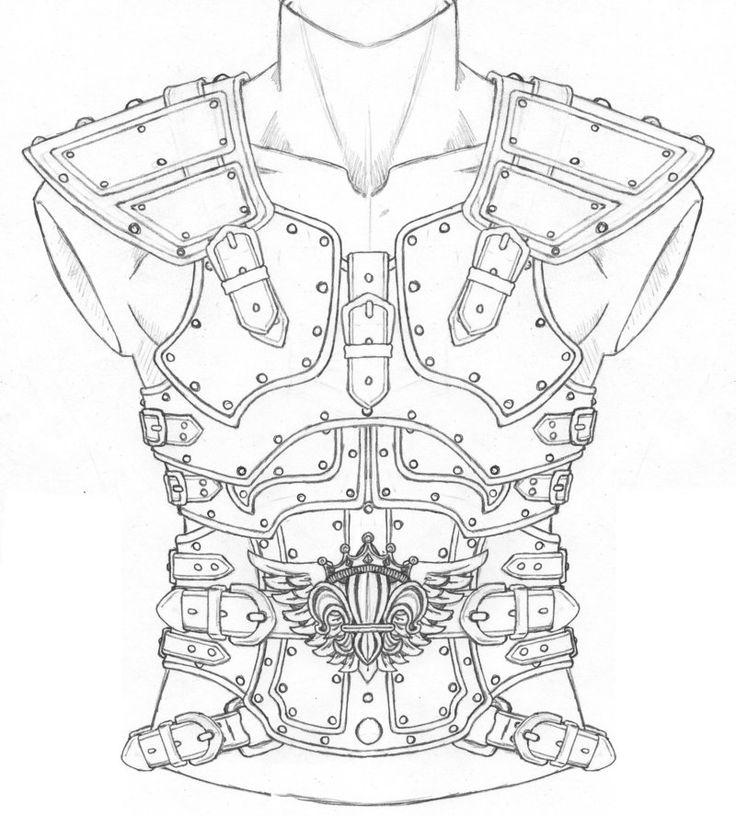 736x816 Drawn Armor Odin