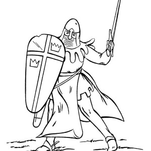 300x300 Goliath And Armor Of God Coloring Page Coloring Sun