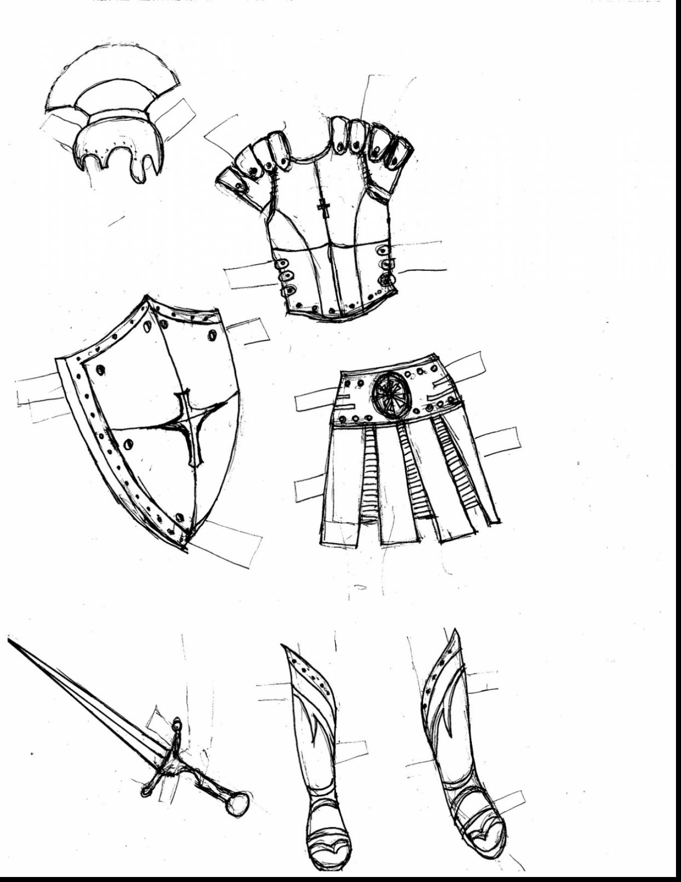 1358x1760 Amazing Armor Of God Coloring Pages