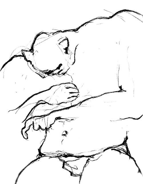 500x646 Drawings From The 1990's By Stefan Stenudd