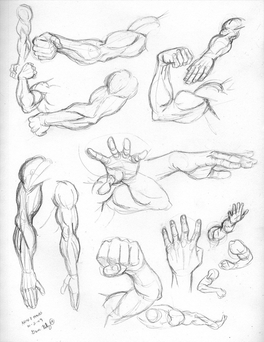 850x1100 Fri 4 Arms And Hands By Genekelly