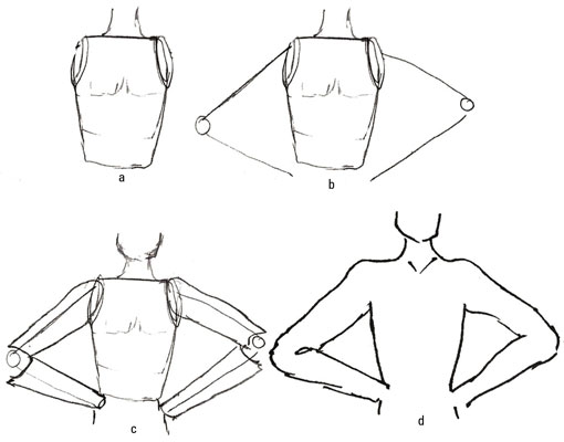 510x400 How To Sculpt Arms For Male Fashion Figures