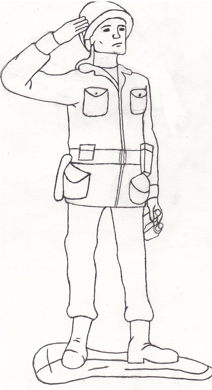 900x1652 Coloring Pages Graceful Drawing Of A Army Man Coloring Pages