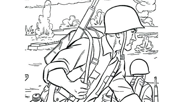585x329 Army Coloring Pages Army Men Coloring Pages Army Coloring Pages