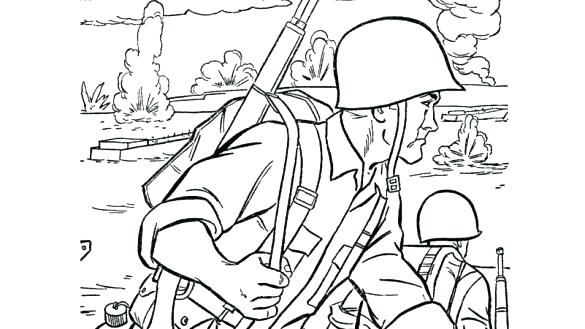 585x329 Army Men Coloring Pages Army With Heavy Coloring Pages The Best