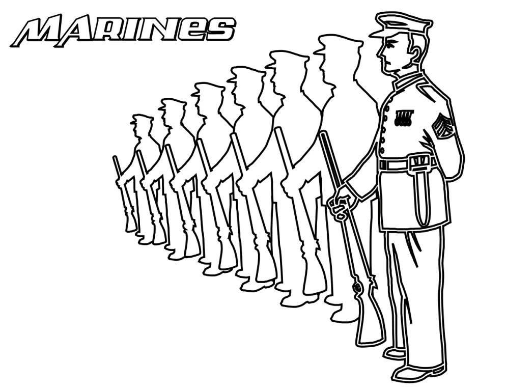 994x768 Army Soldier Coloring Pages Fitfru Style Army Coloring Pages