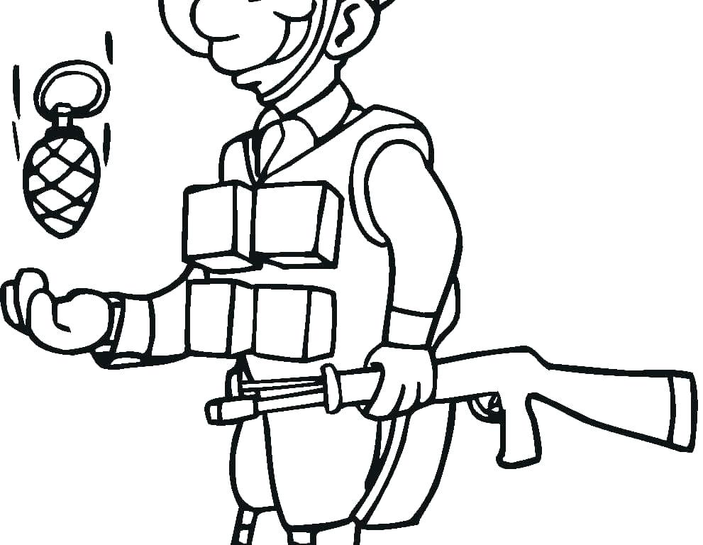 991x768 Roman Soldier Coloring Page