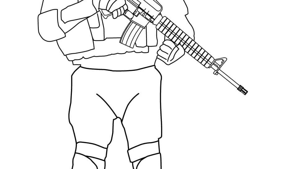 919x544 Army Coloring Pages Soldier Throughout Glum Best Page Printable