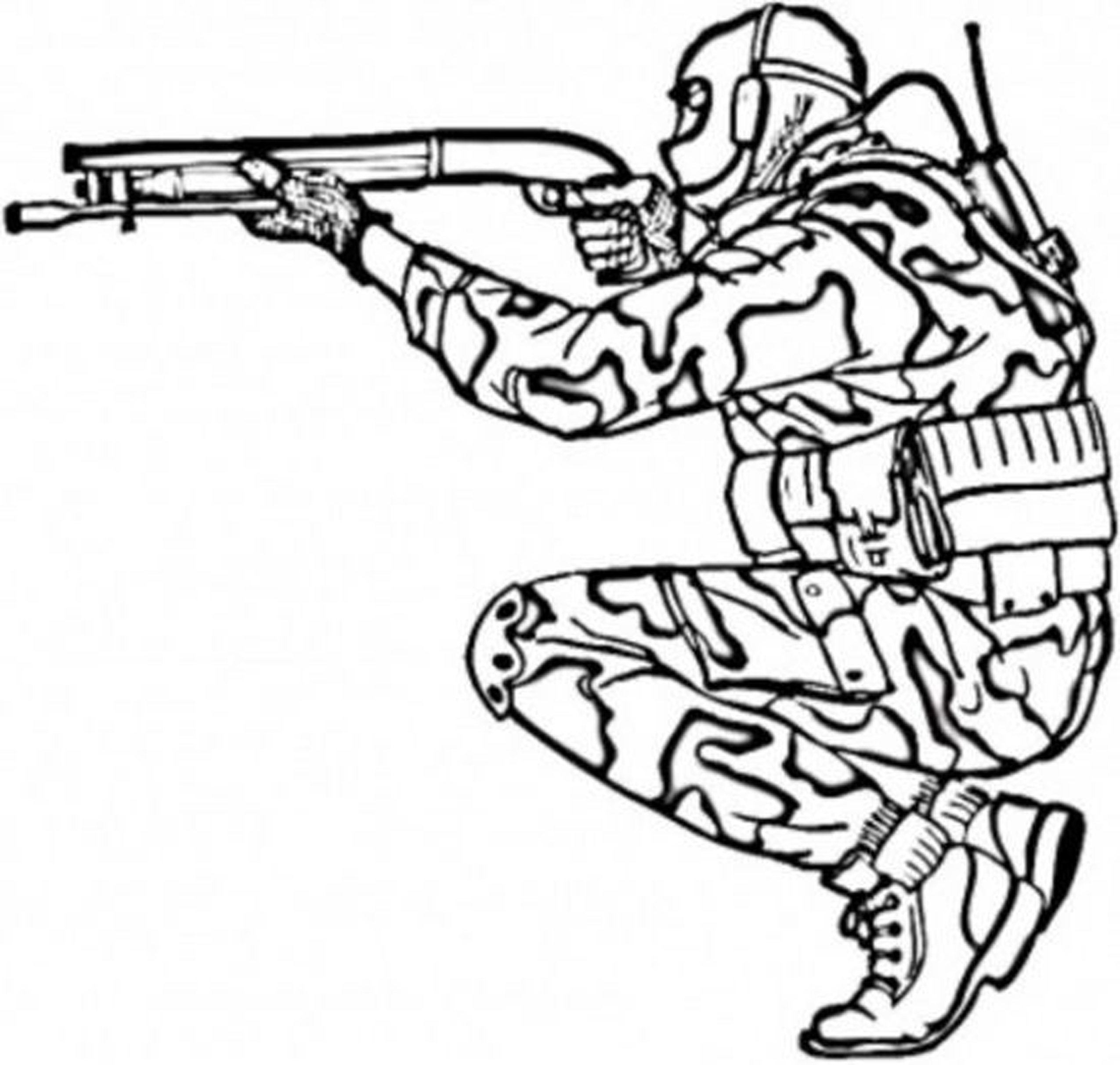 Army Soldiers Drawing at GetDrawings.com | Free for personal use ...