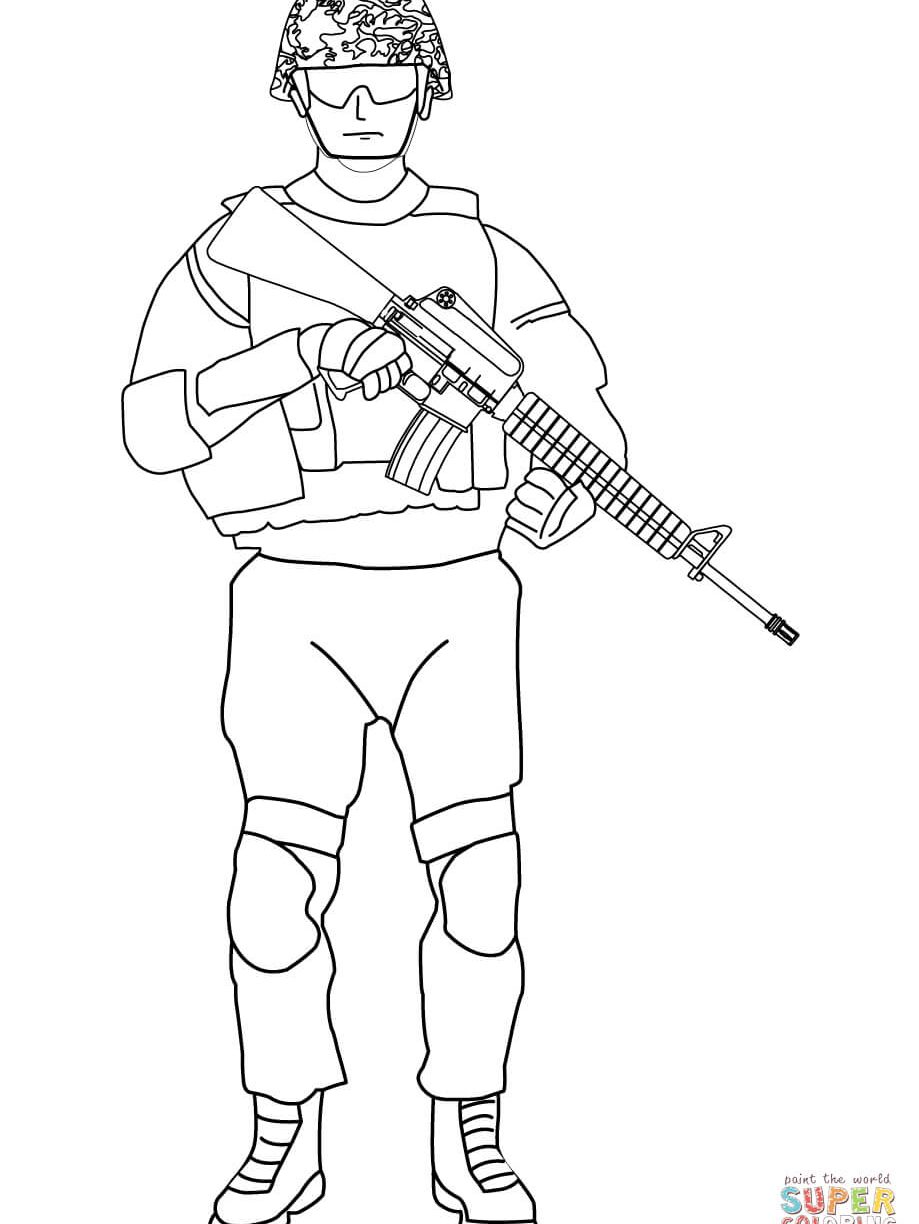 Army Soldiers Drawing at GetDrawings | Free download
