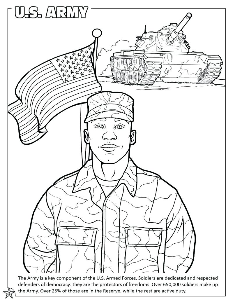 800x1035 Us Air Force Coloring Page Army Man Book Military Pages Tanks