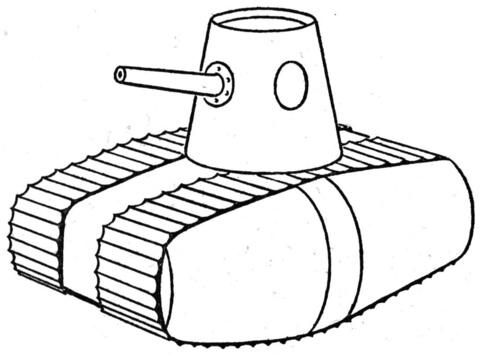 480x355 Ww1 Style Tank Coloring Page Free Printable Coloring Pages