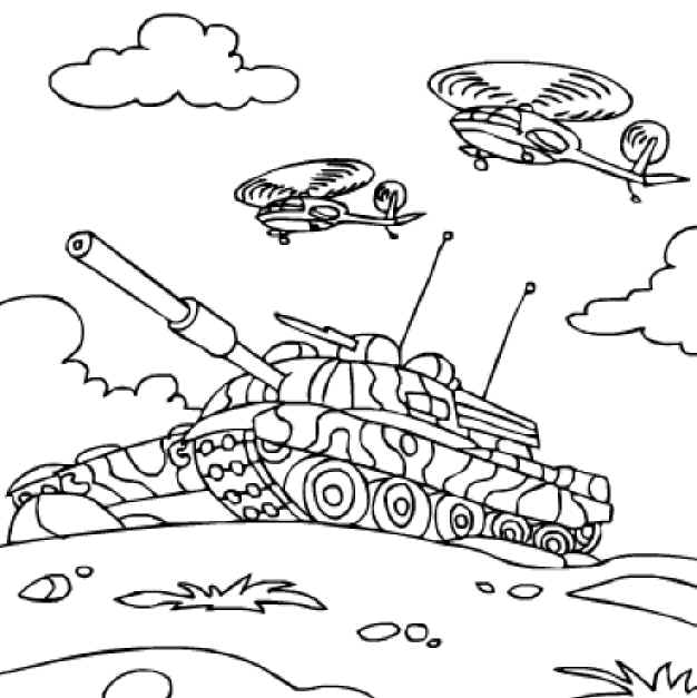 626x627 Army Coloring Pages. M1 Abrams Tank Coloring Page Color Tanks