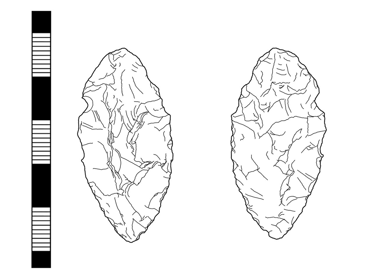 1280x960 Fileneolithic Leaf Shaped Arrowhead (Drawing) (Findid 203142).jpg