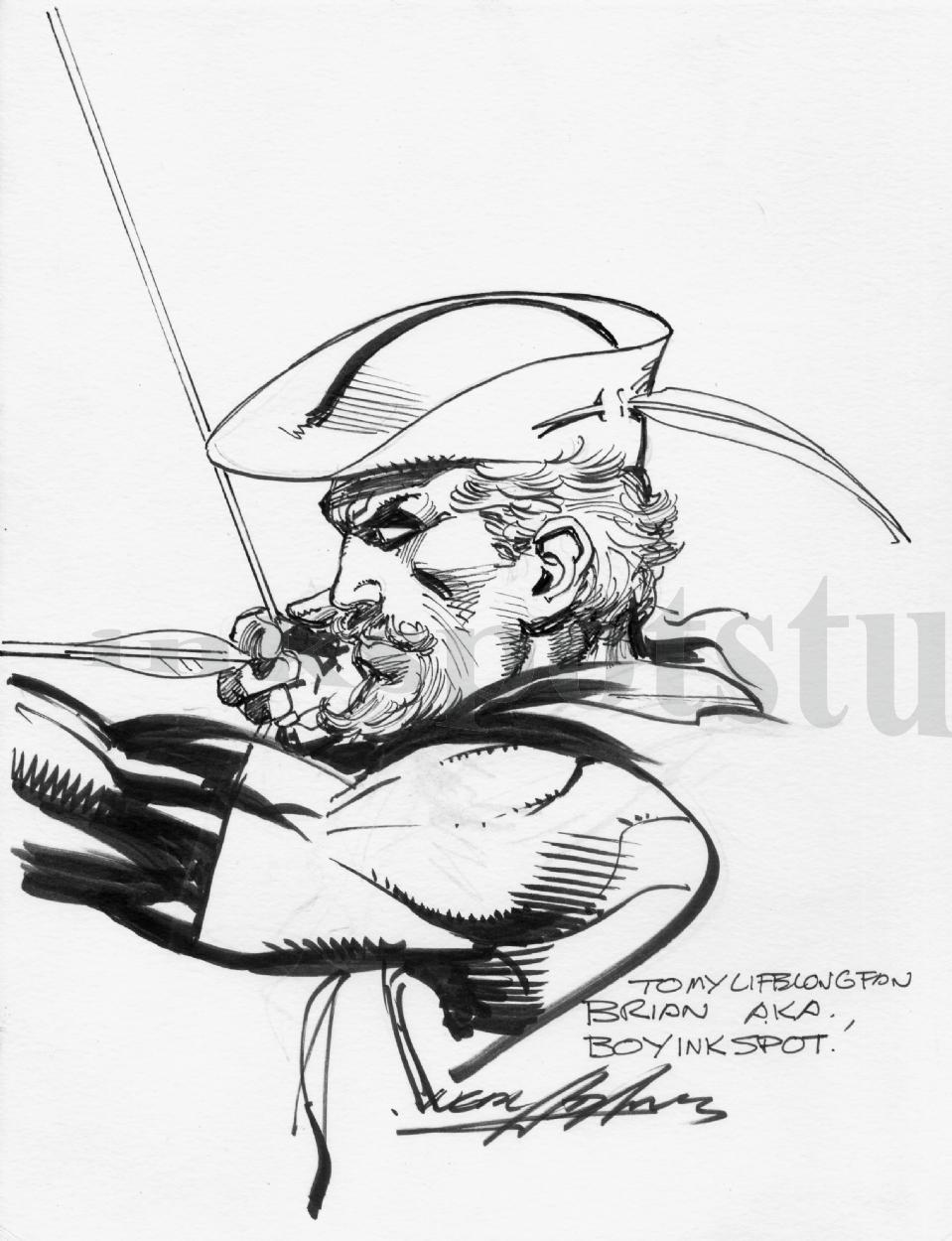 959x1250 Neal Adams Green Arrow Sketch, In Brian G. Mckenna's Permanent
