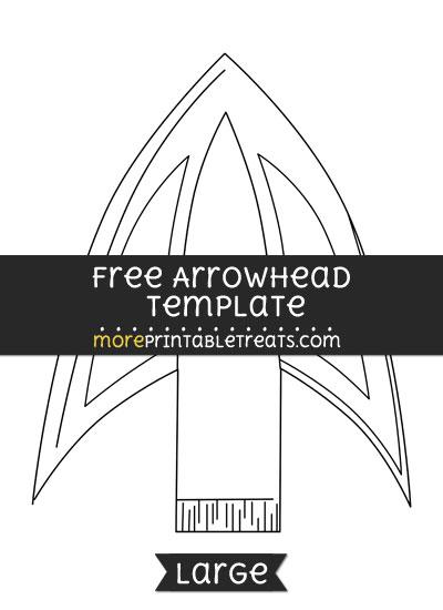 400x550 Free Arrowhead Template