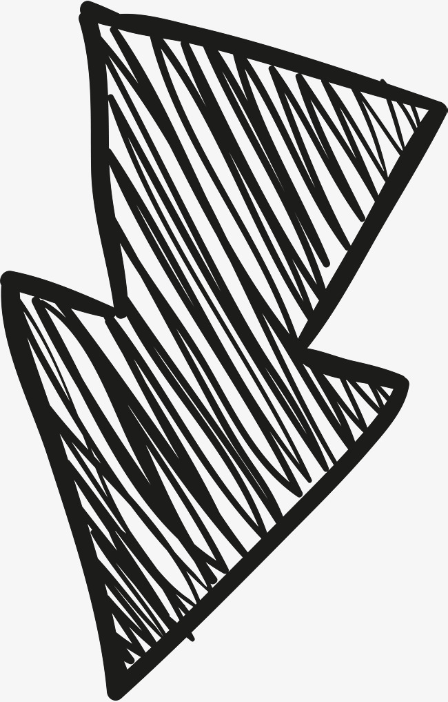 650x1017 Hand Painted Arrowhead, Hand Drawn Arrows, One Way Arrows, Hand