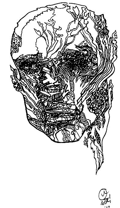401x691 Line Drawing Portraits Uta Brauser