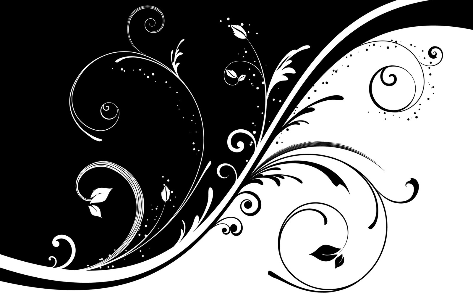 1600x1000 Simple Black And White Abstract World Of Example