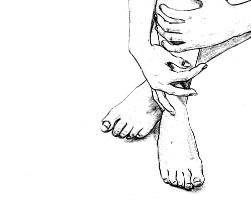 500x400 art black and white drawing feet girl sketches pinterest