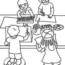 220x220 Drawing Lesson Coloring Pages