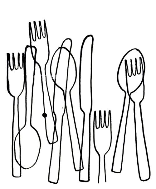 500x604 Simple Line Drawing Of Everyday Objects Contour Drawing K 8