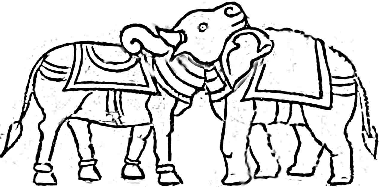 1267x627 Cow Or Elephant Balaj Arts Drawing Class