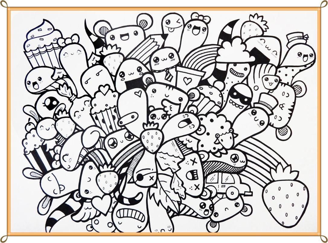 1087x806 Doodle Art Design Ideas