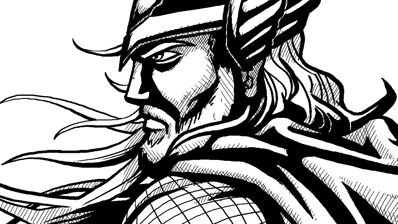 1280x720 How To Draw Comic Book Style Ink! Digital Linework And Shading