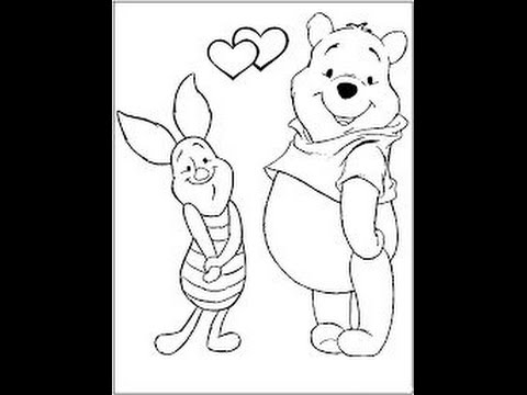480x360 How To Draw Winnie The Pooh Character Piglet