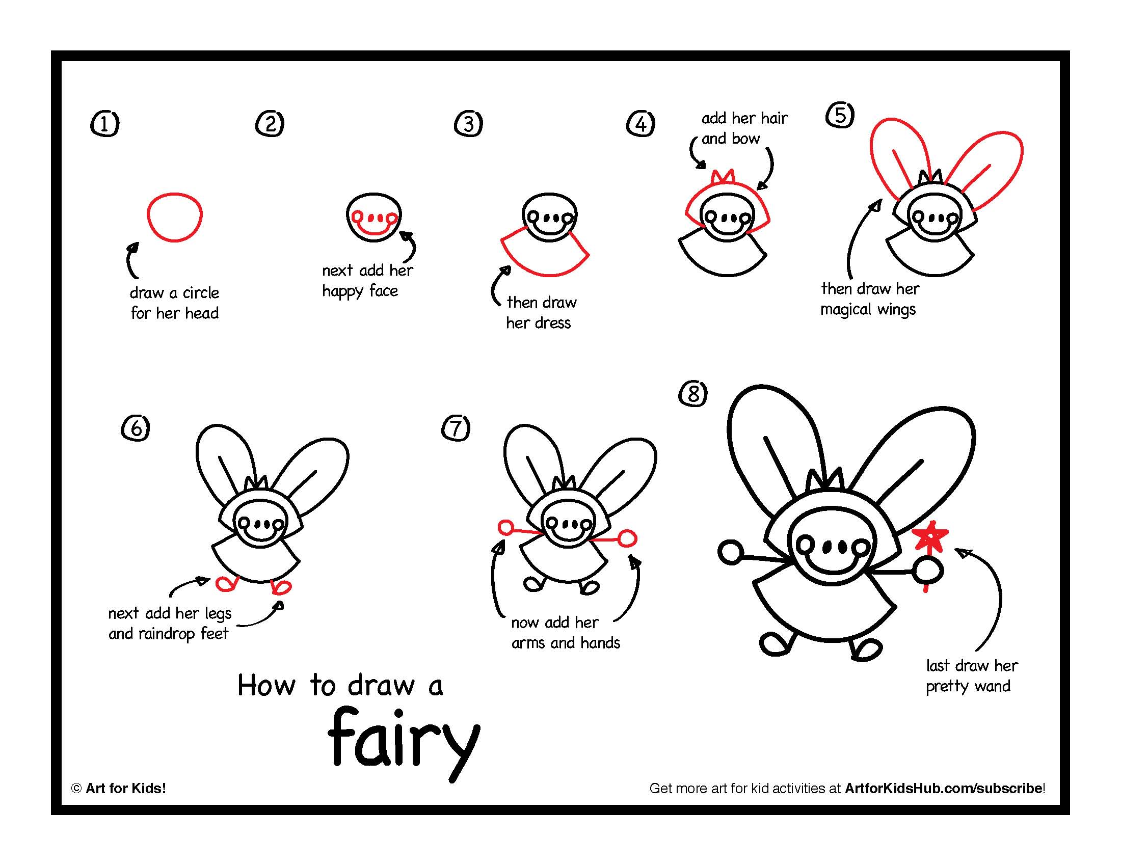 2200x1700 How To Draw A Fairy