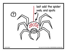 236x182 How To Draw A Spider