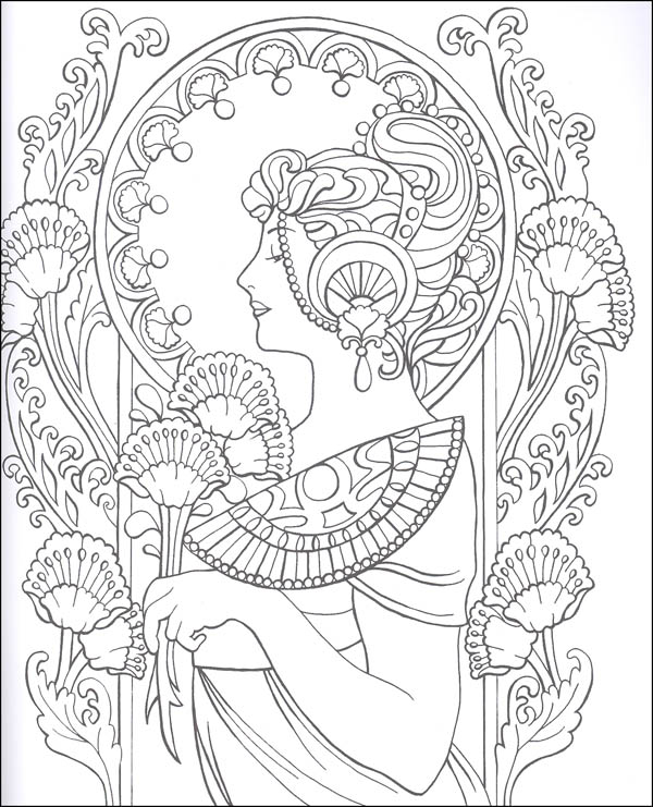 Art Nouveau Drawing