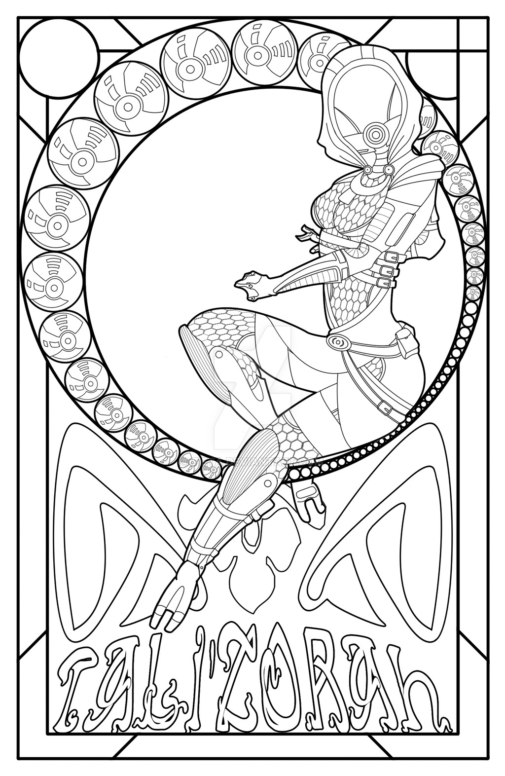 art nouveau drawing at getdrawings com free for personal use art