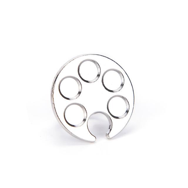 640x640 Hot Sales Mini Metal Finger Ring Nail Art Palette Mixing Alloy Gel
