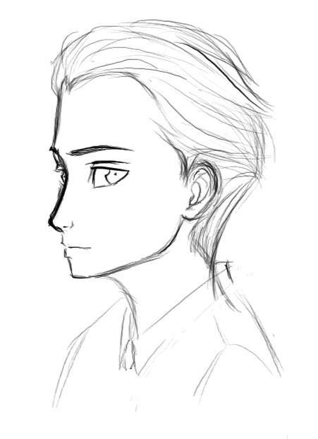 451x622 Artemis Fowl Sketch By Dragonaeve