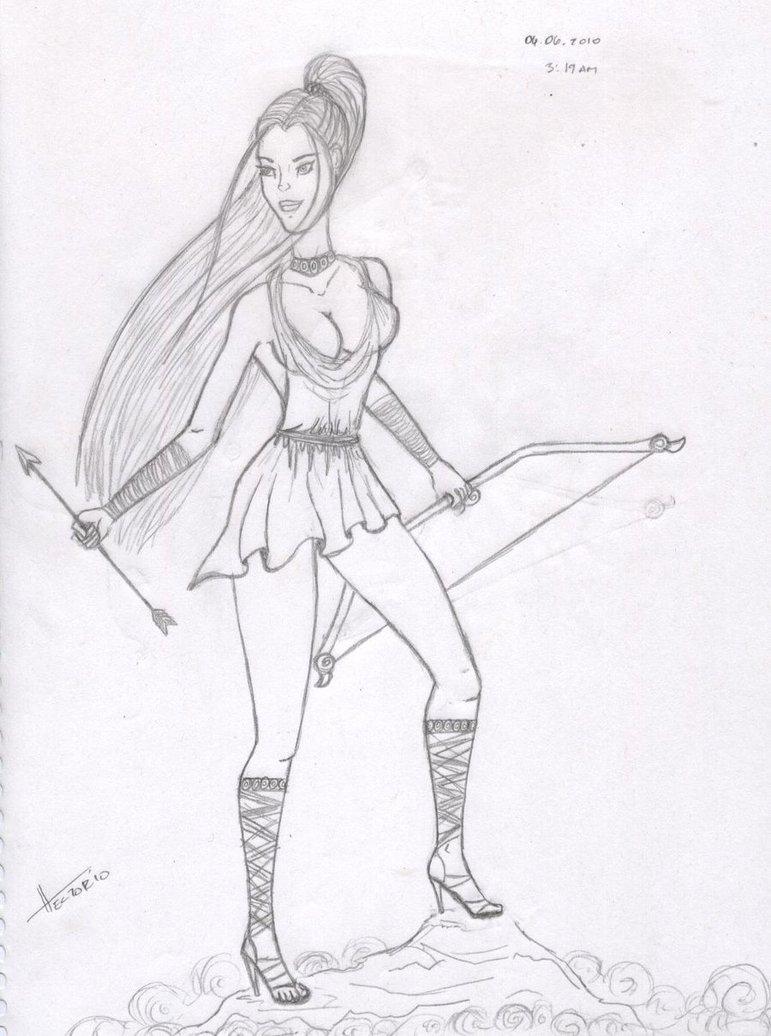 771x1036 Artemis By Hectorsoul
