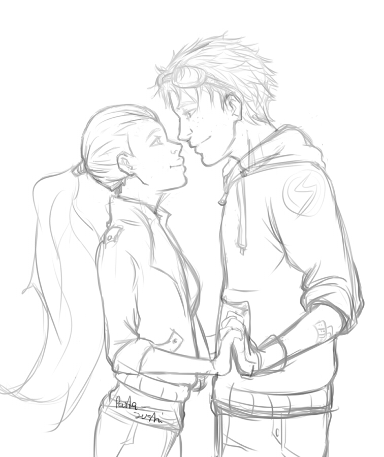 756x900 Sketch Wally And Artemis By Grimmby On Young Justice