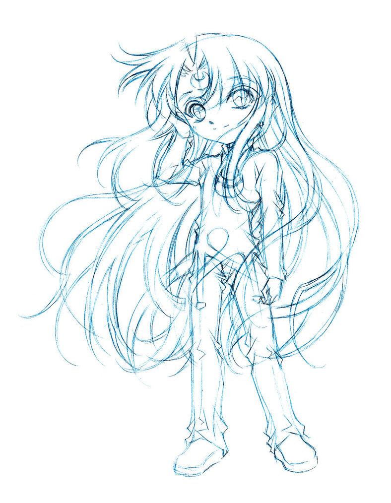 788x1014 Artemis Sketch By Sureya