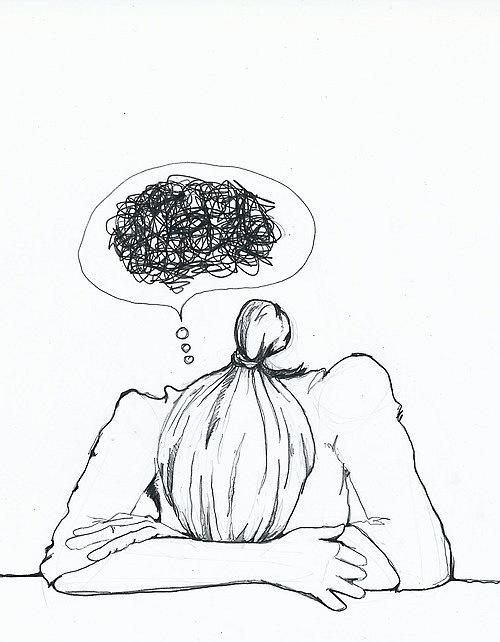 500x642 Mind Scribbles Drawings Brain, Fibromyalgia