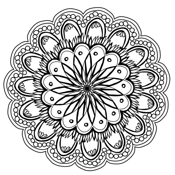 720x720 Free Photo Artist Drawing Flowers Pencil Hand Mandala