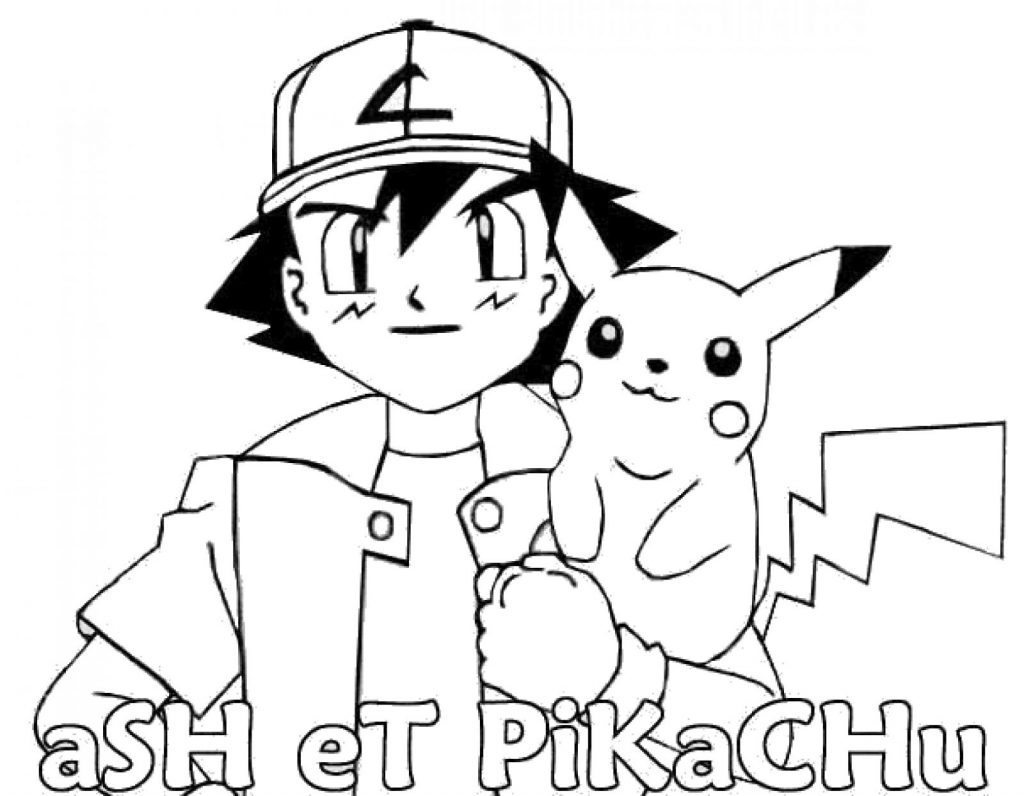 Ash And Pikachu Drawing at GetDrawings.com | Free for personal use ...