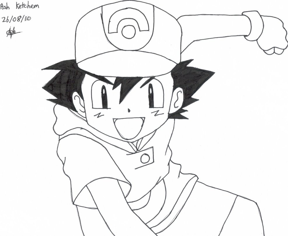987x810 Ash Ketchum By Evil Eyed Deviless