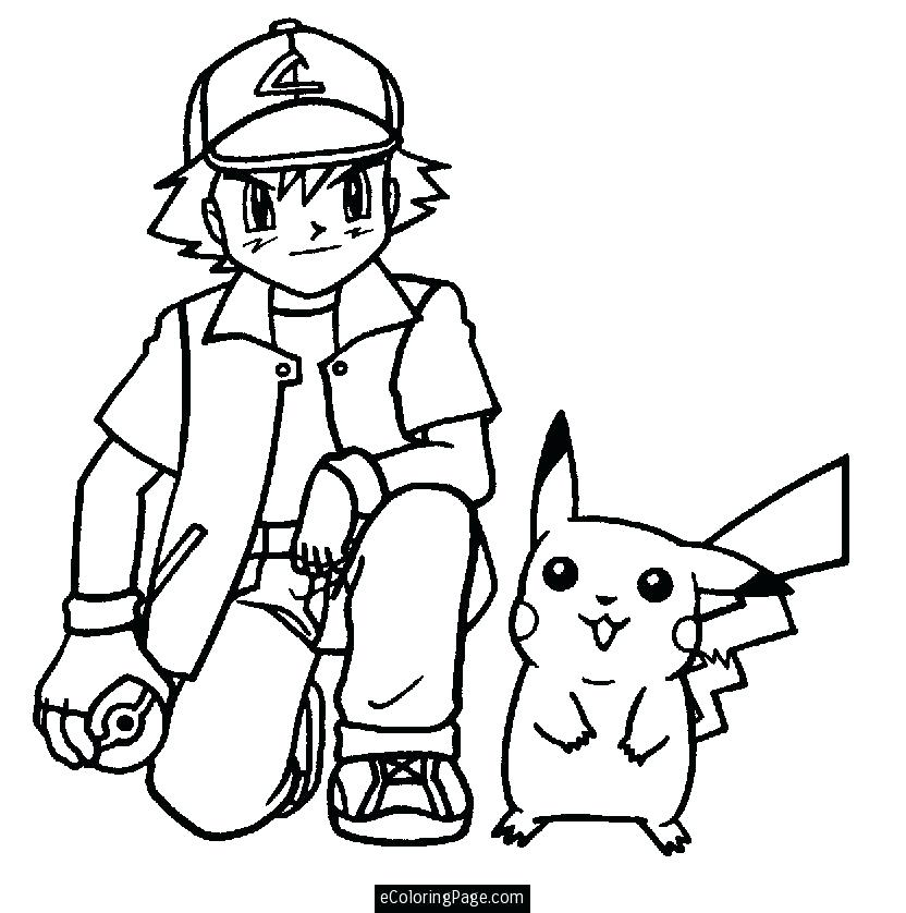 832x838 ash pokemon coloring pages coloring pages collection