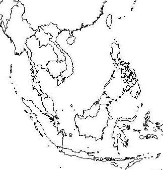 324x339 Southeast Asia Map