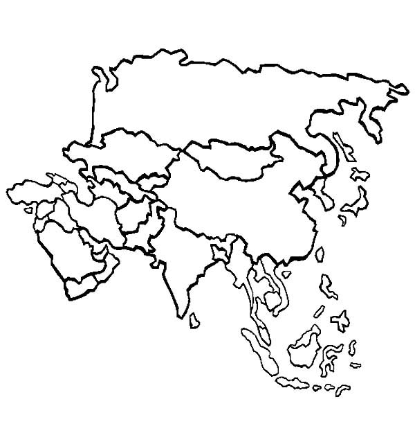 Map Of Asia Outline Printable.Asia Map Drawing At Getdrawings Com Free For Personal Use Asia Map